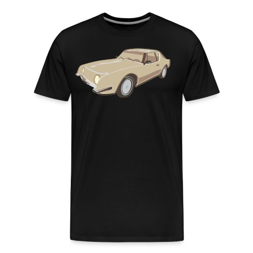 studebakeravanti01agold - Men's Premium T-Shirt