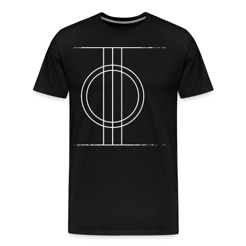 Sapmi black - Premium T-skjorte for menn