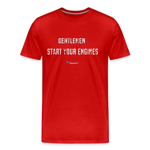 T-Shirt Premium Homme Start your engines - T-shirt Premium Homme
