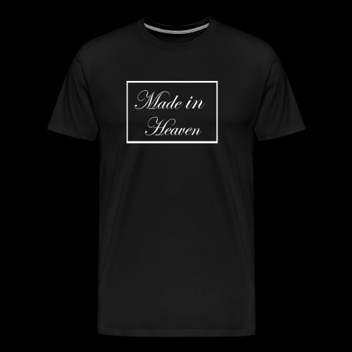 Made in Heaven Logo - Men's Premium T-Shirt