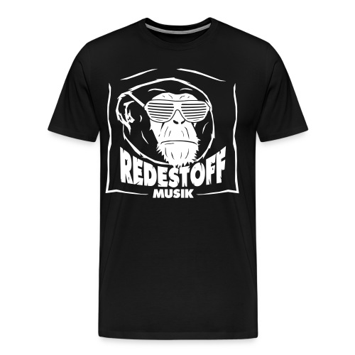 logo black vector - Männer Premium T-Shirt