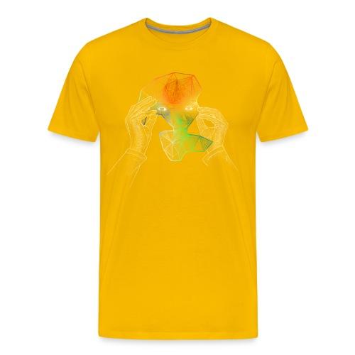 superson undercover motiv2 png - Herre premium T-shirt