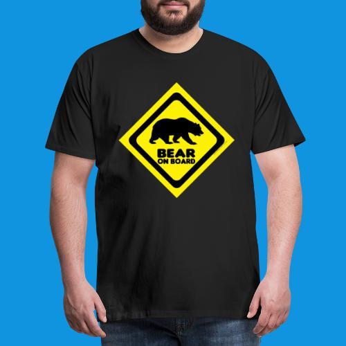 Bear On Board 2 tank - Men's Premium T-Shirt