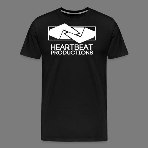 HBP Logo White png - Männer Premium T-Shirt
