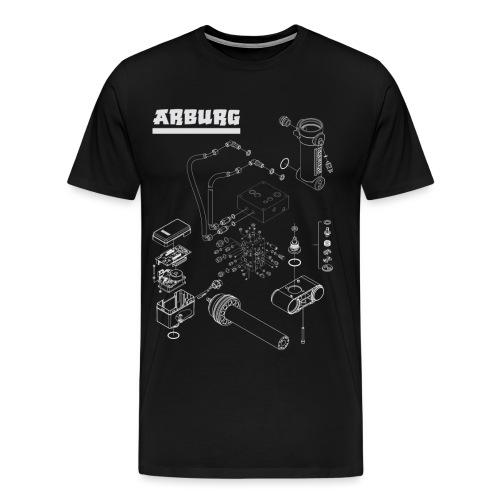 Maschinenteile png - Männer Premium T-Shirt
