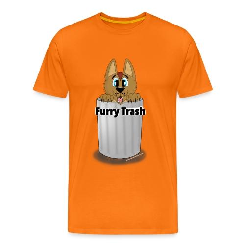 Furry Trash - Herre premium T-shirt