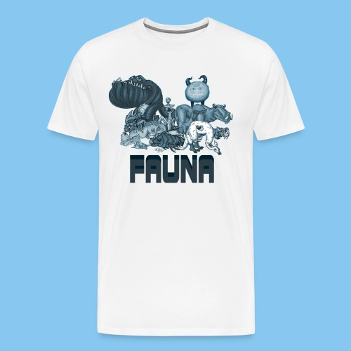 FAUNA shirt png - Organic Baseball Cap