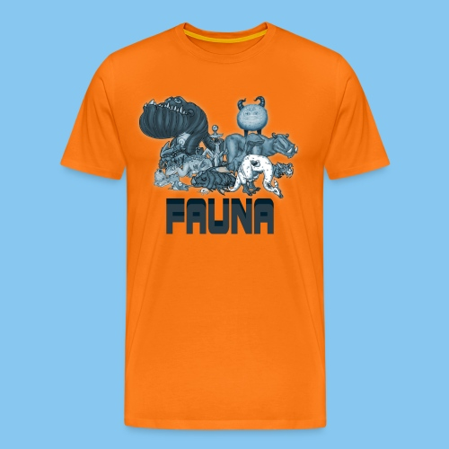 FAUNA shirt png - Men's Premium T-Shirt