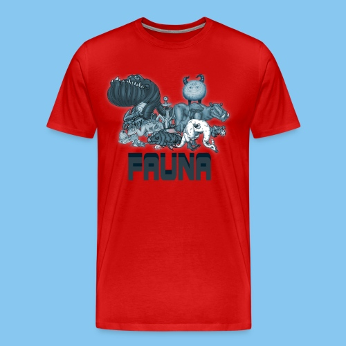 FAUNA shirt png - Men's Premium T-Shirt