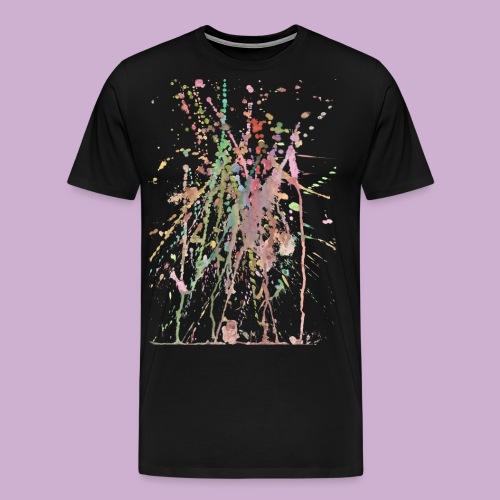 AQUARELLSPRITZER - Männer Premium T-Shirt