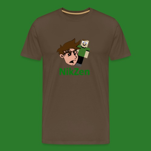 NikZen desegen - Herre premium T-shirt