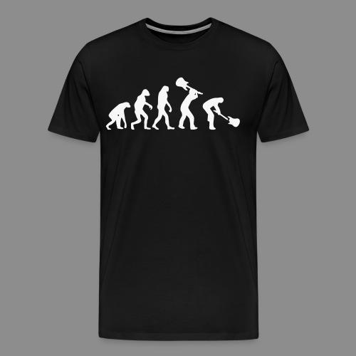 Evolution Rock - Camiseta premium hombre