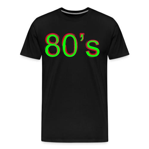 80's - Männer Premium T-Shirt