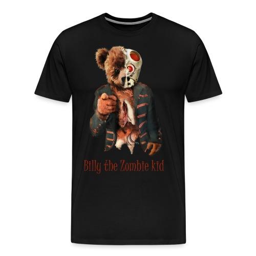 Billy the Zombie kid T-shirt. - Premium-T-shirt herr