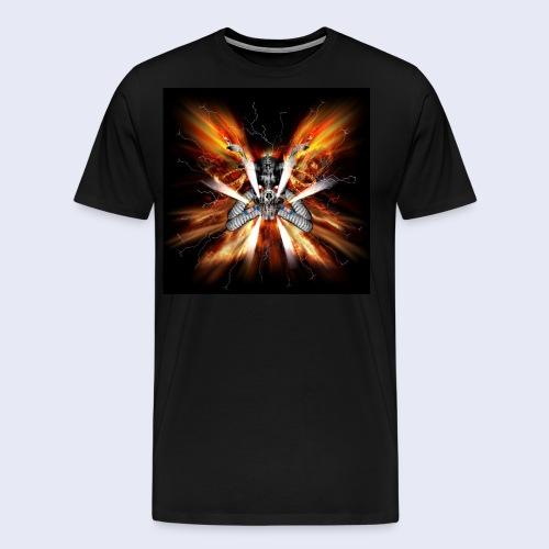 Skullhead Nitro - Männer Premium T-Shirt