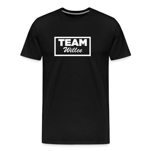 Team willce merch white - Premium-T-shirt herr