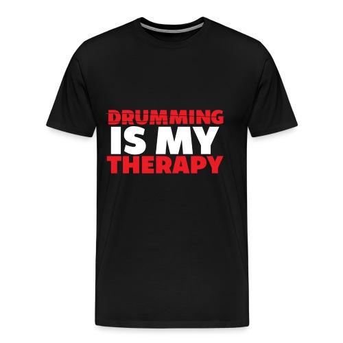drumming therapy - Men's Premium T-Shirt