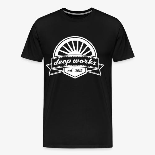 Deep Works Logo 2 - Männer Premium T-Shirt