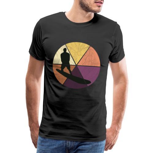 Wellenreiten - Männer Premium T-Shirt