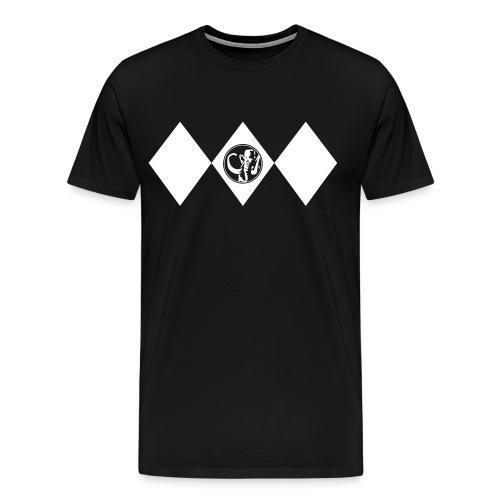 black_dino - Männer Premium T-Shirt