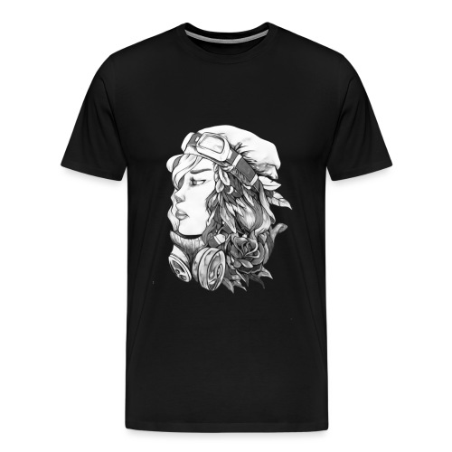 Beauty BW - Camiseta premium hombre