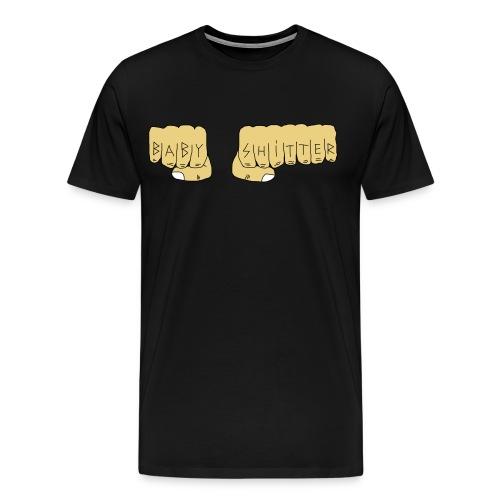 Babyshitter Faust Tattoo - Männer Premium T-Shirt
