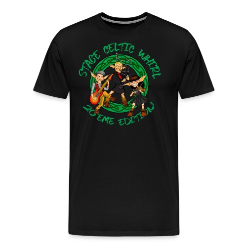 Celtic Whirl Stage - T-shirt Premium Homme