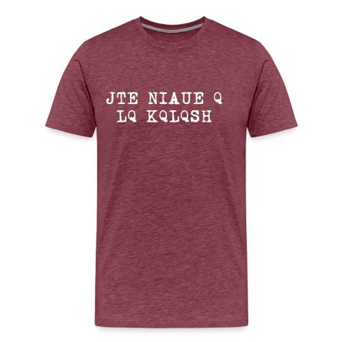 TshirtNF_Kqlqsh - T-shirt Premium Homme