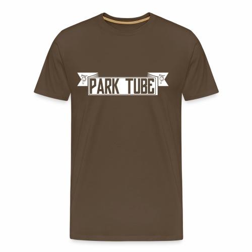 ParkTube Banner weiss - Männer Premium T-Shirt