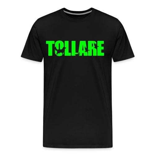 logo tollare einfarbig - Männer Premium T-Shirt