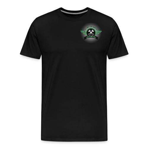 MotorbikeMap Shine - Männer Premium T-Shirt