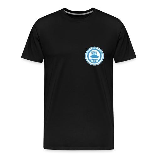 Logo de Policía de Realiacity - Camiseta premium hombre