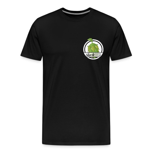 FemAle logo vit 01 png - Premium-T-shirt herr