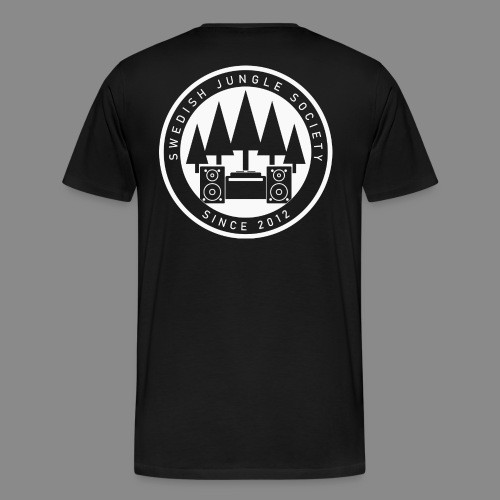 Forest Ravers - White - Men's Premium T-Shirt