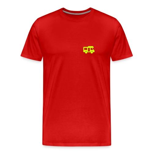 Camper logo by eland apps - Men's Premium T-Shirt