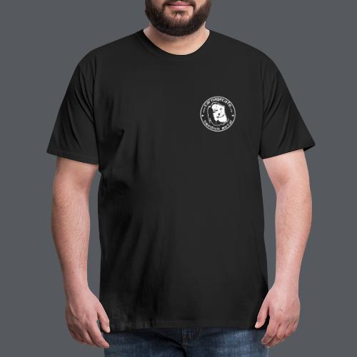 Carnage Cafe face - Premium-T-shirt herr