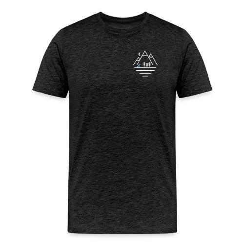 'Mountains' - Men's Premium T-Shirt