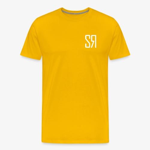 White badge (No Background) - Men's Premium T-Shirt