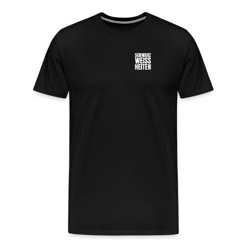 SCHWARZWEISSHEITEN - Männer Premium T-Shirt