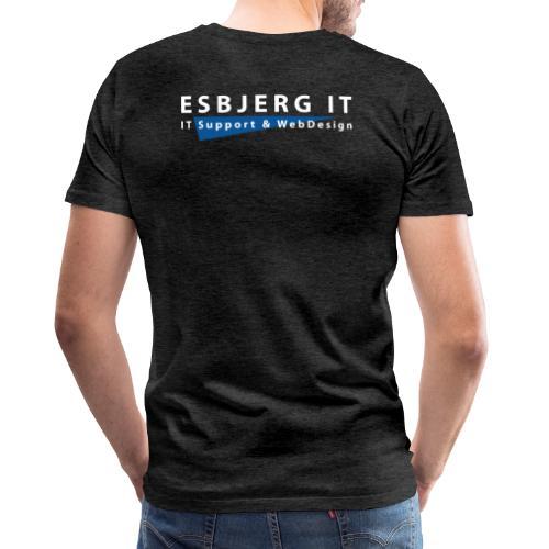 Esbjerg IT - Herre premium T-shirt