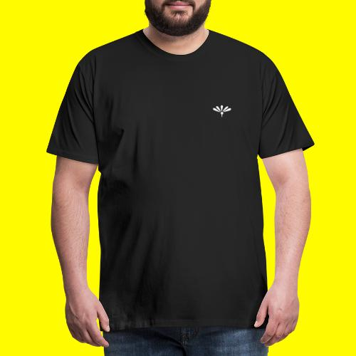 Bodoni Ornaments - Herre premium T-shirt