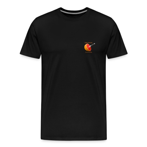 Blood orange (text) - Men's Premium T-Shirt