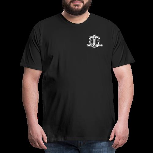 Baroque Records Logo Small - Männer Premium T-Shirt