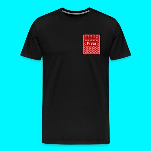 FIVES patch - T-shirt Premium Homme