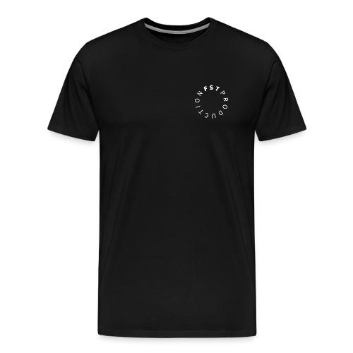 TSHIRT BLANC - T-shirt Premium Homme