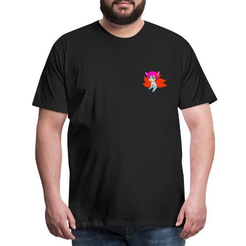chibi mike fox - Herre premium T-shirt