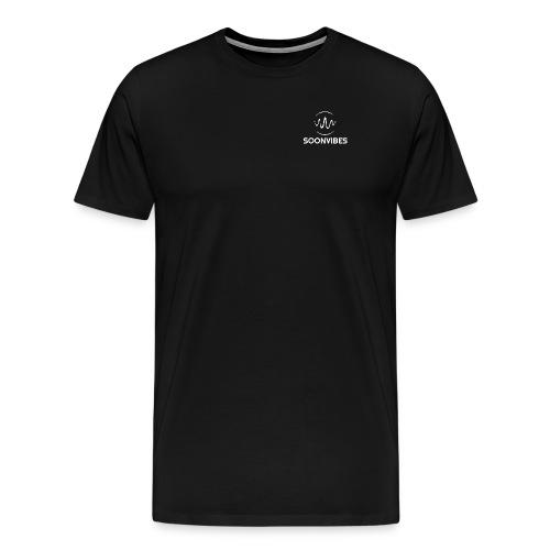 logo blanc png - T-shirt Premium Homme