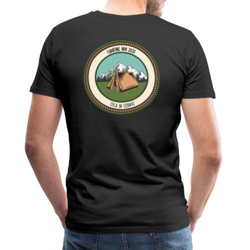 Sola 20 Camping WM - Männer Premium T-Shirt