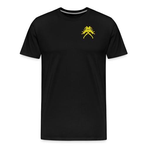 Huskarlsgubbe 150x130mm - Premium-T-shirt herr