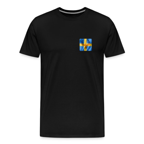 Swedish Phoenix klara färger - Premium-T-shirt herr